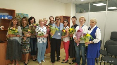Teleflora Flower Salon with Belarusian Children's Hospice