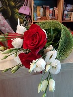 "Bouquet of flowers "" Roses and Eustoma"""