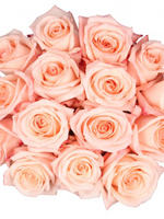 Bouquet of 15 Engagement Pink Roses