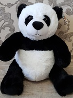 Soft toy Panda bear, 40 cm